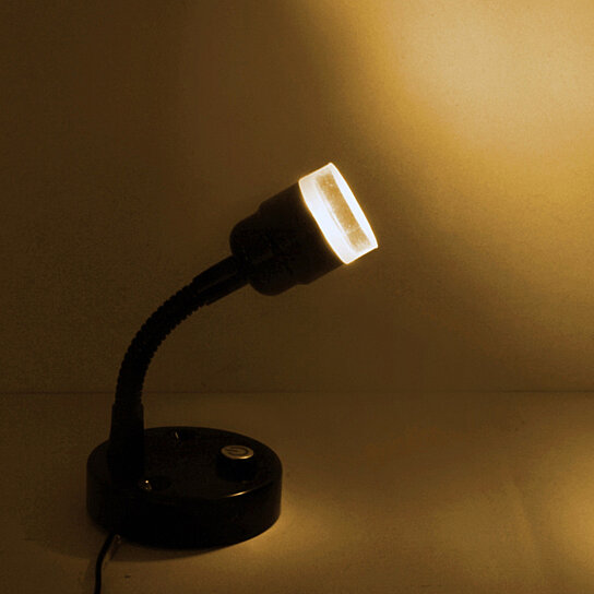 Buy 2pcs of led 12v flexible black headboard bedside for 12v led table lamp