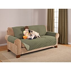 Sofa Furniture Protector Olive/sage