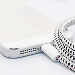 10ft Bungee USB Charging Cable For iPhone 5 6 6 plus