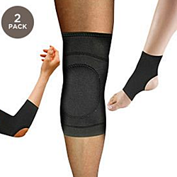 2-Pack: Copper Comfort Compression Brace - Assorted Styles