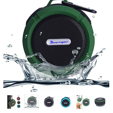 2016 Newest Portable IPX4 waterproof Wireless Bluetooth shower Speakers mini loudspeakers Outdoor car speakers sound boombox