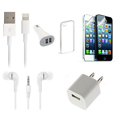 7 Piece Smart Bundle for iPhone 4, 5, or 6