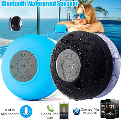 Bluetooth Shower Speaker - 5 Assorted Colors
