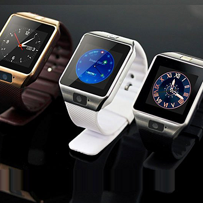 Bluetooth GSM Smart Wrist Watch Phone Mate with Camera
