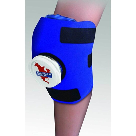 Buy Knee Wrap Ice Bag Pack Cold Therapy Adjustable Sore
