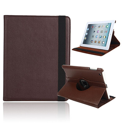 IPAD 360 Rotating Leather Case Smart Stand Holder Cover