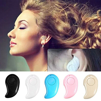 Mini Wireless Bluetooth 4.0 Stereo In-Ear Headset headphone earphone (Buy 2 & Get 1 Free)