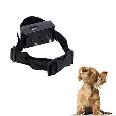 New Barking Anti Bark Dog Pet Adjustable Training Shock Control Collar