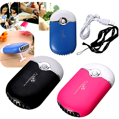 Portable USB Rechargeable Hand held Air Conditioner Bladeless Cooling Fan