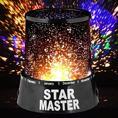 Star Master LED Night Light Projector