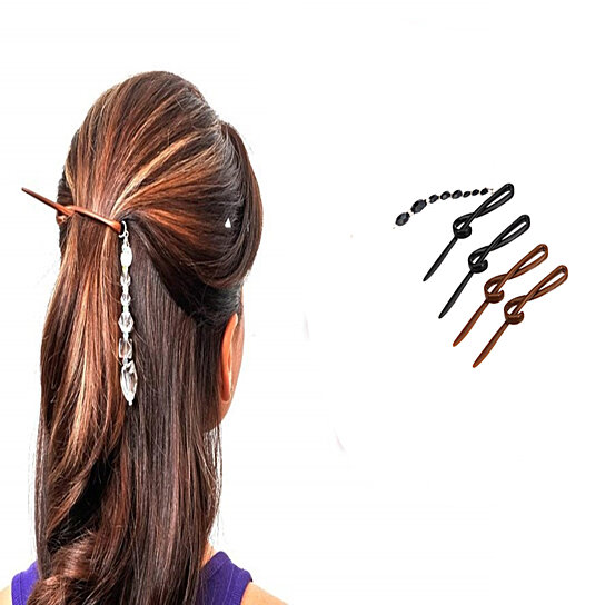 Portable Stylish Hair Twist Clip Kit With Free Tattle Tail