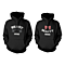 Beast Mode & Beauty Mode Matching Couple Hoodies (Set)