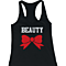 Beauty & Beast Matching Couple Tank Tops (Set)