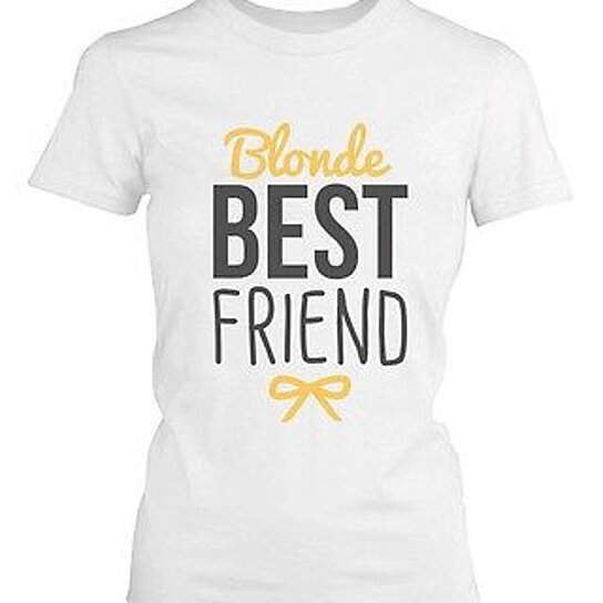 Buy Best Friend Shirts Blonde And Brunette Best Friends
