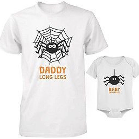 721e724c2 Trending product! This item has been added to cart 49 times in the last 24  hours. Cute Father and Son Matching Outfit for Halloween - Daddy and Baby  Spider