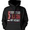Don't Go Bacon My Heart, I Couldn't If I Fried Matching Couple Hoodies (Set)
