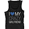 I Love My Crazy Girl & Boy Matching Couple Tank Tops (Set)