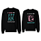 I Love My Monster Matching Couple Sweatshirts (Set)