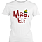 Mr Elf & Mrs Elf White Matching Couple Shirts (Set)