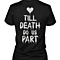 Till Death Do Us Part & Party Matching Couple Shirts (Set)