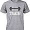 Train Mates Matching Couple Shirts in Grey (Set)