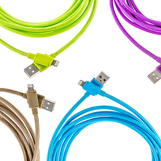 Buy Apple Certified Lightning Tangle Free Iphone Charger Sync Cable 10 Ft By 3d Luxe On Opensky