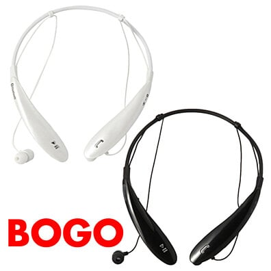 BOGO Ultra-Sound Wireless Bluetooth Neckband Headset