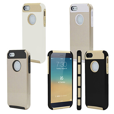 Dual-Layer Hybrid Case Cover gold Collection for iPhone and Samsung