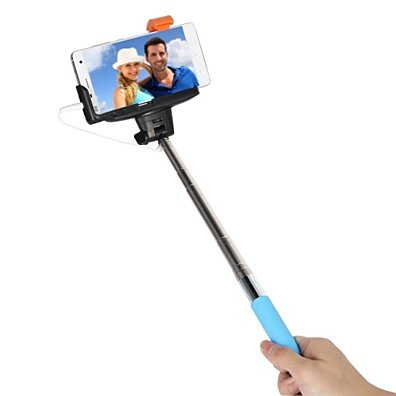 Selfie Monopod Stick with Built In Remote