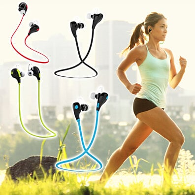 Wireless Bluetooth Sport Headset (Sweat-proof Design)