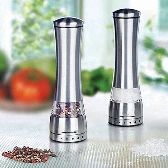 Buy Electric Salt Pepper Grinder Set By 3one0 Boutique On Opensky