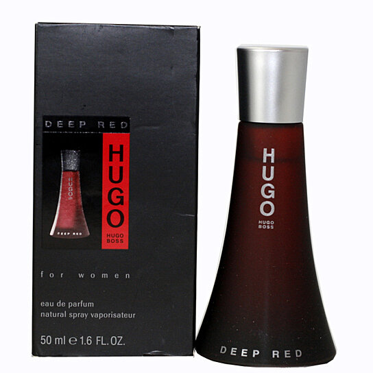 buy deep red by hugo boss for women eau de parfum spray 1. Black Bedroom Furniture Sets. Home Design Ideas