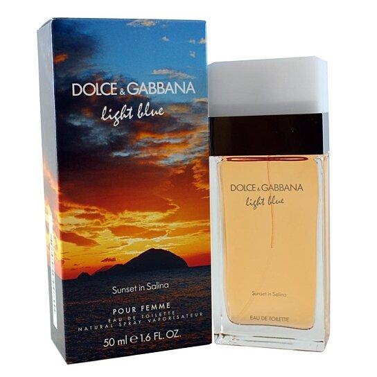 buy dolce gabbana light blue sunset in salina by dolce gabbana for women eau de toilette. Black Bedroom Furniture Sets. Home Design Ideas