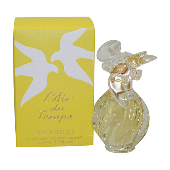 buy l 39 air du temps perfume by nina ricci for women eau de toilette spray 1 7 oz 50 ml by. Black Bedroom Furniture Sets. Home Design Ideas