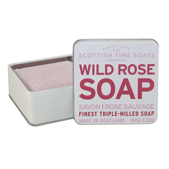 Buy Wild Rose Soap By Scottish Fine Soaps For Women Finest
