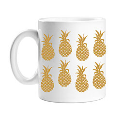 All Gifts Golden Pineapple Coffee Mug