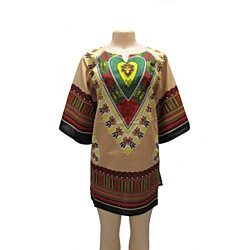 Elegant Unisex Traditional Dashiki Shirt Print Colors
