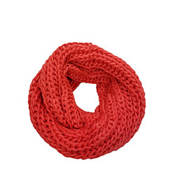 Women's scarf Very Soft Cable-Knit Infinity Shawl