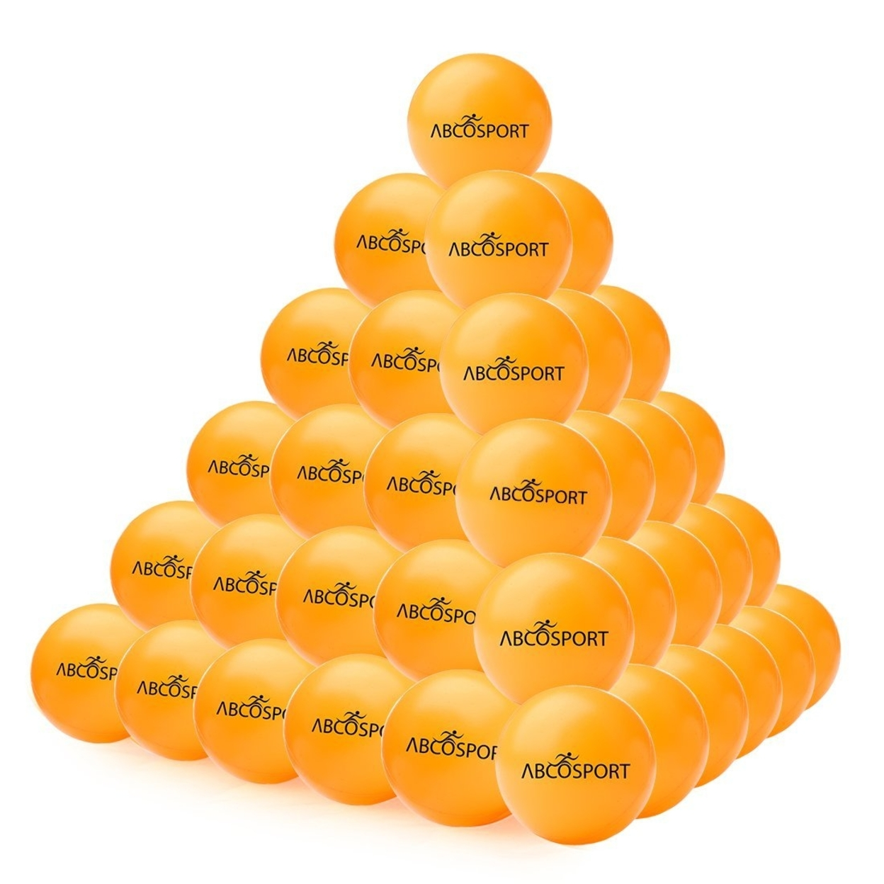 Ping Pong Balls – Set of 50-Pack Professional Grade Table Tennis Balls – 40mm Orange Balls 5898df3139f7e32df241096d