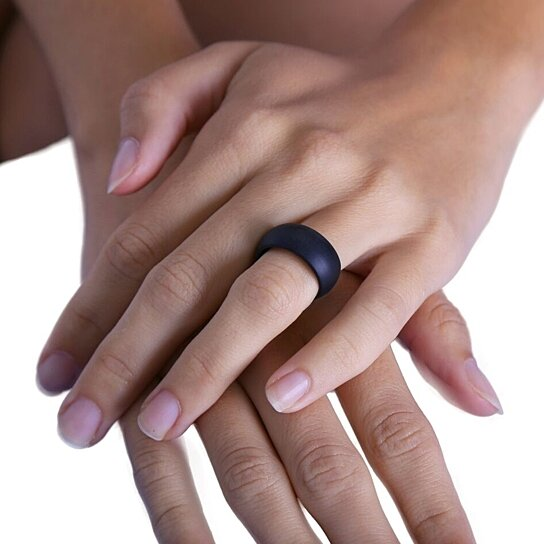 Buy Silicone Ring Flexible Wedding Ring For Athletic Active
