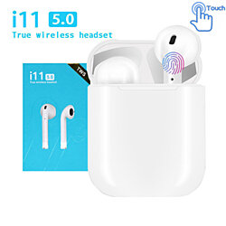 TWS Bluetooth Earphone 5.0 in ear mini Wireless Headsets Bass stereo Earbuds for iPhone Android Xiaomi