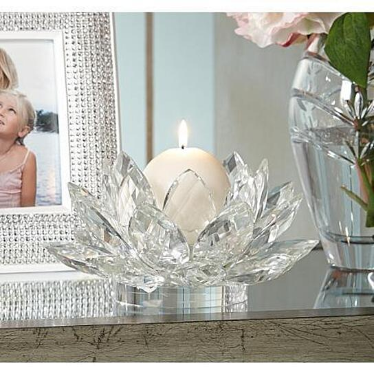 Buy brilliant cut clear multifaceted glass art 30 lead for Phoenix glass decorating co