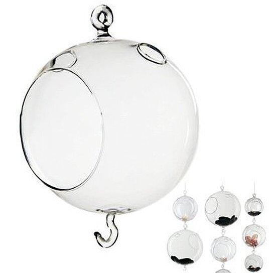 Buy 6pcs Glass Bubble Ball Vase Votive Candle Holder