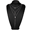 Trendy Stylish Fashion New Multi Layers Choker Chain Necklace for women