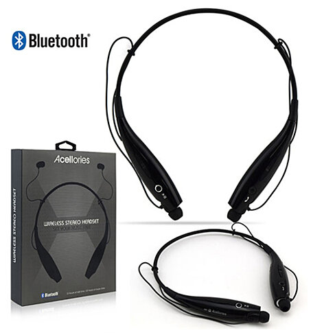 Buy Acellories Bluetooth Necklace In Ear Headset By