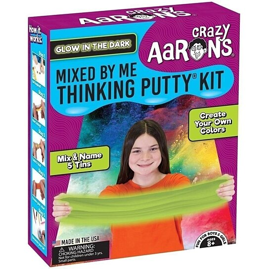 Buy Crazy Aaron S Glow In The Dark Mixed By Me Kit By