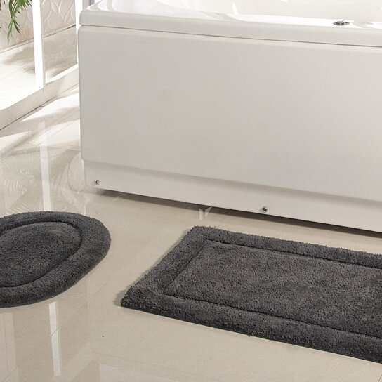 "Buy 100% Soft Cotton Affinity Collection Bath Rug 20""x32"
