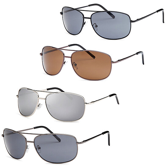 80970e2f820 Buy AFONiE Men Metal Style Square Sunglasses - Pack of 4 by AFONiE on  OpenSky