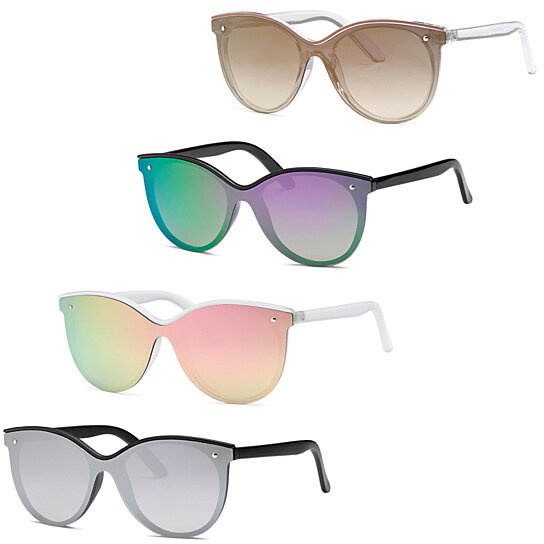 b3b5fbfb7a1 Buy AFONiE Modern Flat Lens Fashion Sunglasses - Pack of 4 by AFONiE on  OpenSky