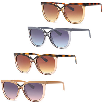 936df985b0d8 AFONiE Modern Large Square Fashion Sunflasses - Pack of 4